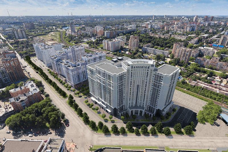 ЖК «Чапаев» по ул. Чапаева, д. 61