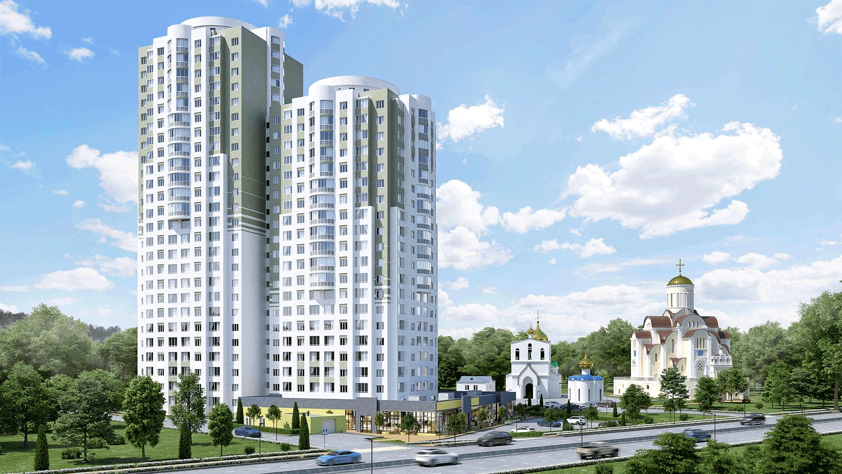 ЖК «Жуков», ул. Новосёлов, дом 45А