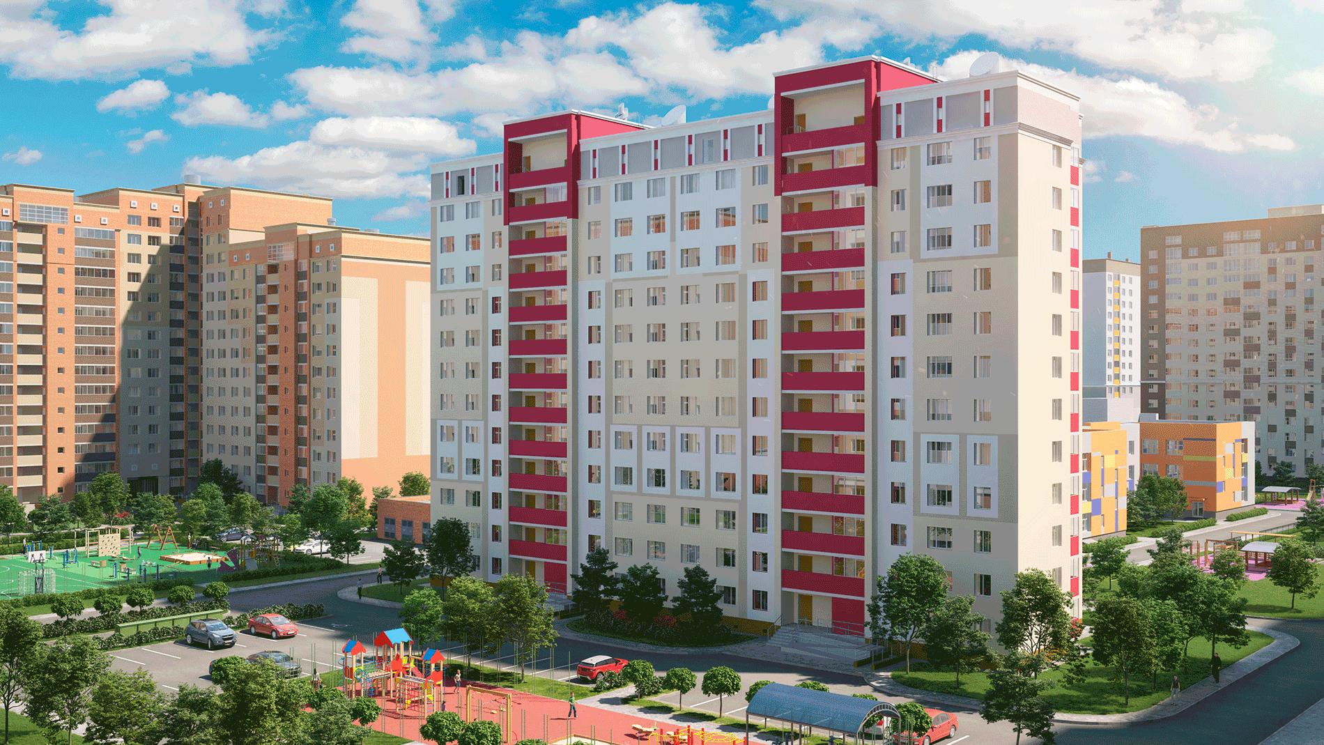 ЖК «Видный» Рыбновская улица, дом 3Б